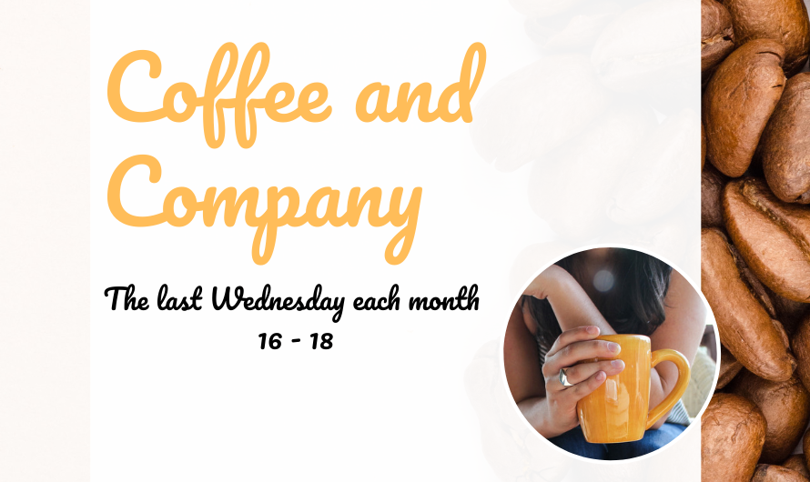 Coffee and Company 30th October 16-18