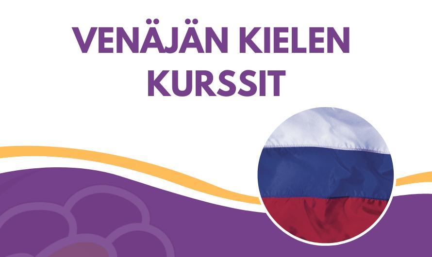 Venäjän kielen kurssit