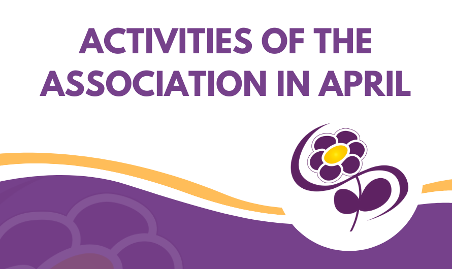 Activities of the Association in April