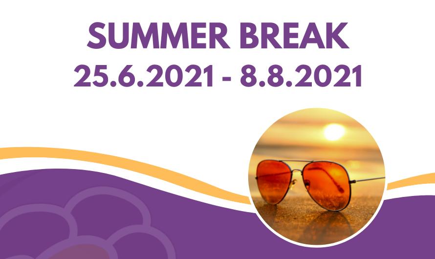 The summer break
